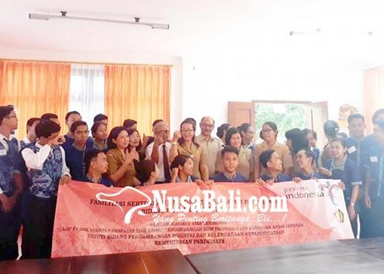 Nusabali.com - 145-siswa-ikut-sertifikasi-uji-kompetensi-lsp-p1-smkn-5-denpasar