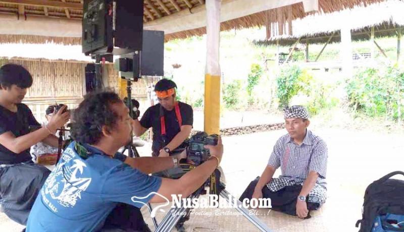 www.nusabali.com-bnpb-syuting-film-di-museum-lontar-dukuh-penaban