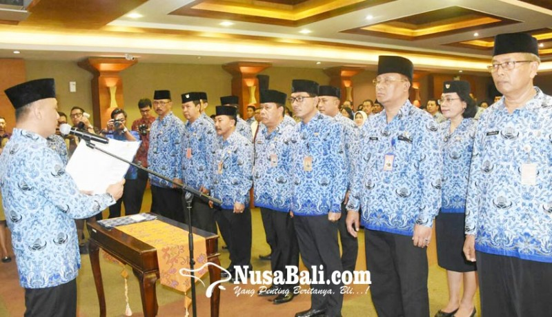 www.nusabali.com-pengurus-korpri-kota-denpasar-2017-2022-dikukuhkan