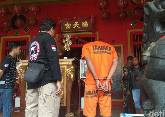 Nusabali.com - depresi-pria-teror-klenteng-di-karawang