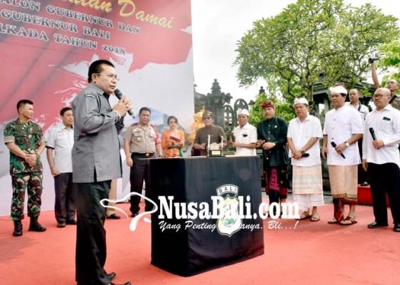 Nusabali.com - cagub-cawagub-deklarasi-kesepakatan-damai