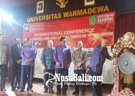 Nusabali.com - fh-unwar-gagas-konferensi-internasional-tentang-hukum-dan-pariwisata