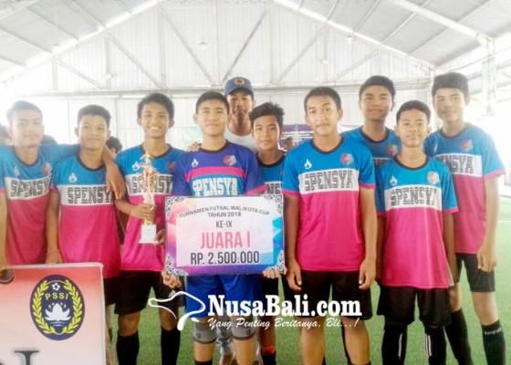 Nusabali.com - smpn-9-denpasar-raja-futsal-denpasar