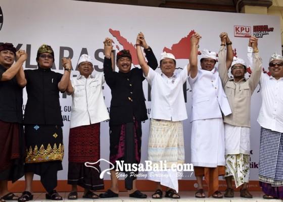 Nusabali.com - pasangan-calon-sepakat-pilgub-bali-yang-damai