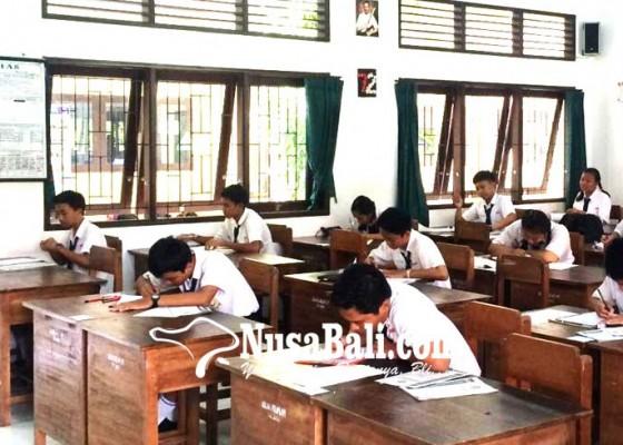 Nusabali.com - hadapi-usbn-smp-se-badung-gelar-try-out