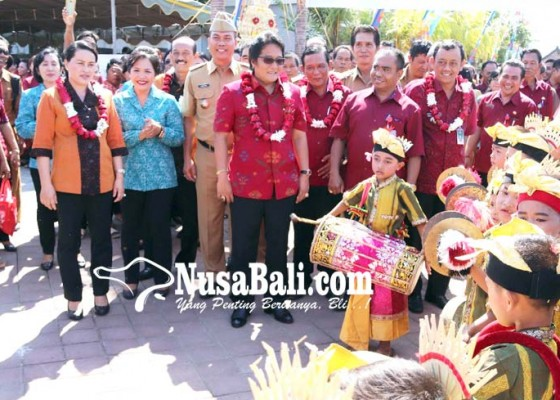 Nusabali.com - desa-tibubeneng-dinilai-tim-lomba-desa-tingkat-kabupaten