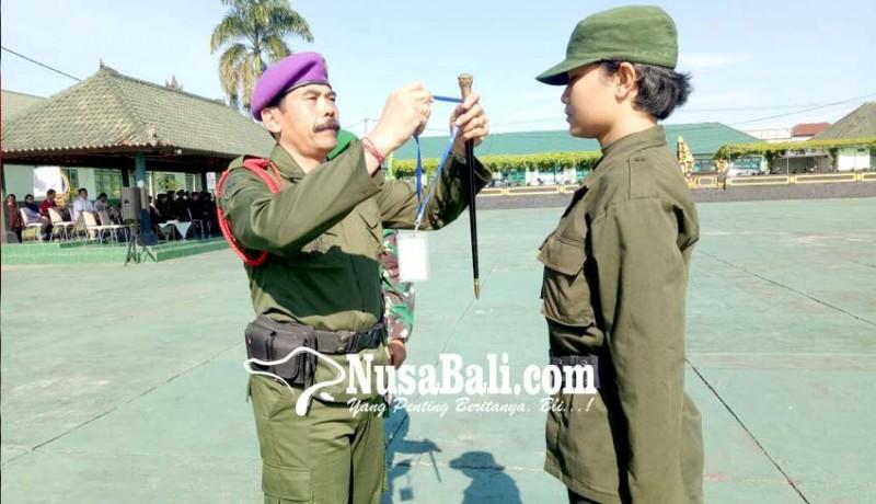 www.nusabali.com-mahasiswa-dari-11-perguruan-tinggi-digembleng-pendidikan-semi-militer