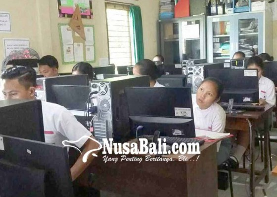 Nusabali.com - ruang-tu-dan-guru-dijadikan-ruangan-unbk