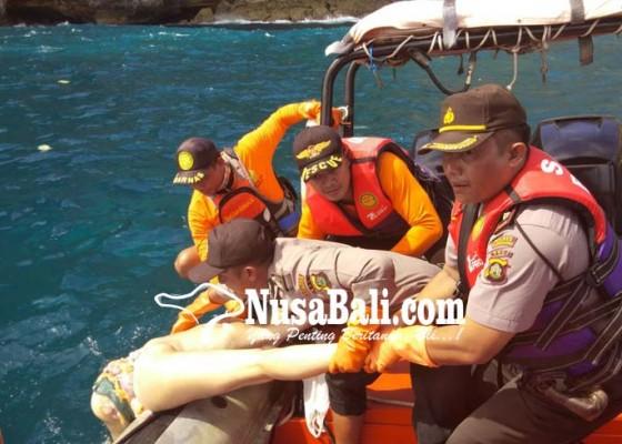 Nusabali.com - turis-rusia-jatuh-dari-tebing-setinggi-200-meter-di-nusa-penida