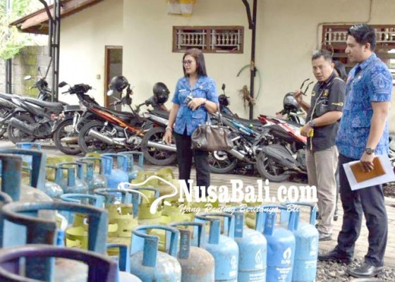 Nusabali.com - pemkab-badung-sidak-agen-dan-pangkalan-gas-elpiji