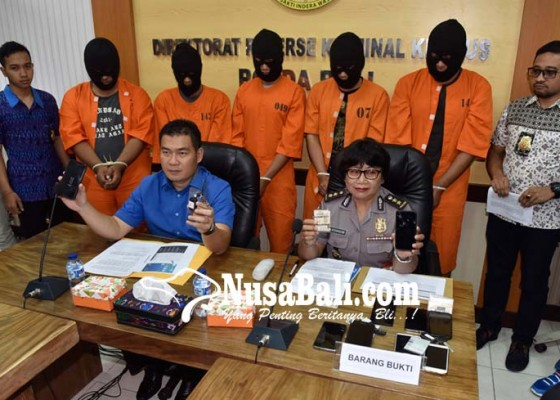 Nusabali.com - lima-sopir-grab-ditangkap-polisi
