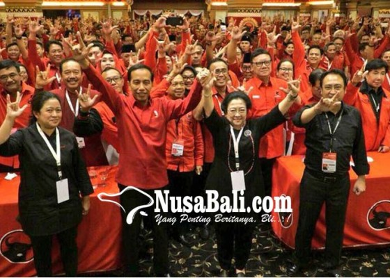 Nusabali.com - pdip-resmi-usung-jokowi-capres-2019