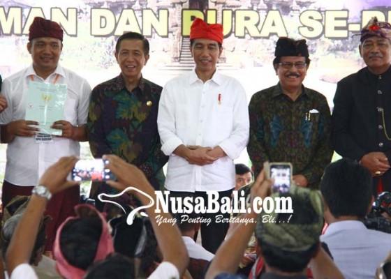 Nusabali.com - bali-pertama-bersertifikat-100-persen