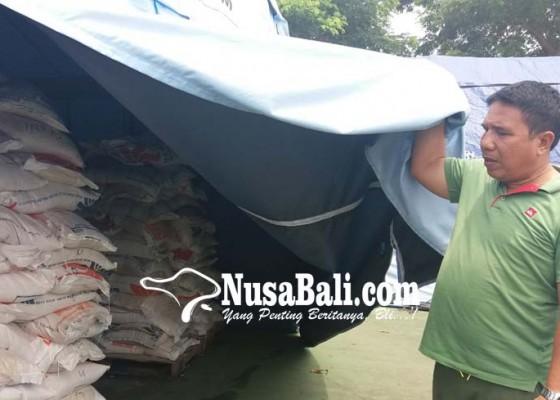 Nusabali.com - 20-ton-beras-tersisa-di-posko