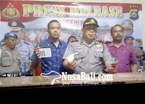 Nusabali.com - dua-pegawai-money-changer-nakal-dibekuk