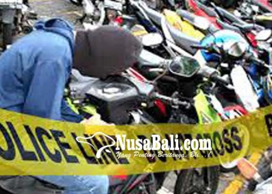 Nusabali.com - ditinggal-ngayah-motor-disikat-maling
