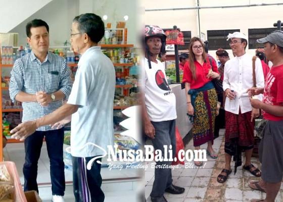 Nusabali.com - cabup-cawabup-terjun-kunjungi-pasar