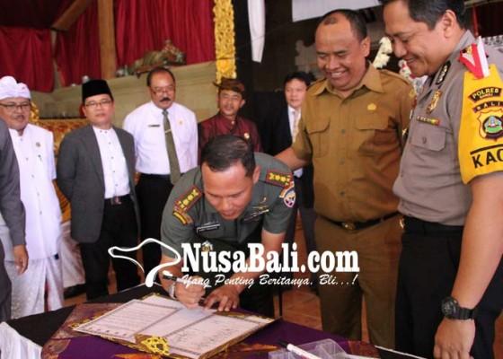 Nusabali.com - jaga-kerukunan-polres-bangli-gelar-ikrar-bersama