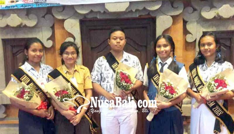 www.nusabali.com-lima-siswa-terpilih-jadi-duta-anak-karangasem