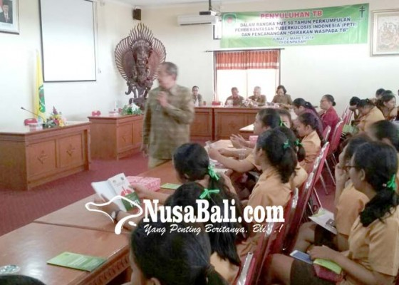 Nusabali.com - ppti-bali-sosialisasi-tb-melalui-siswa-smk