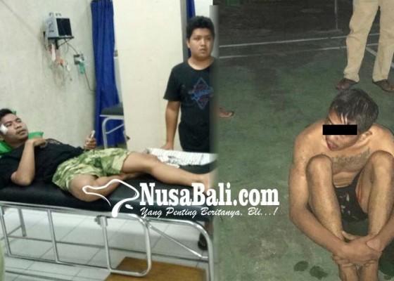 Nusabali.com - pemalak-aniaya-korban-di-pantai-penimbangan