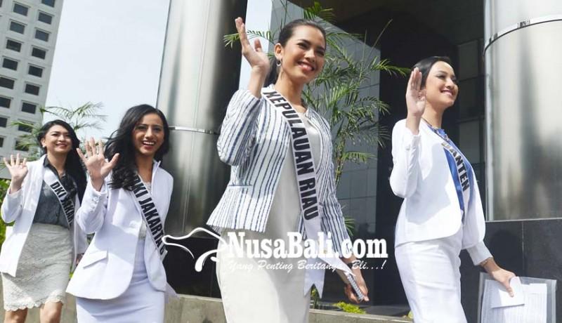 www.nusabali.com-finalis-putri-indonesia-datangi-kpk