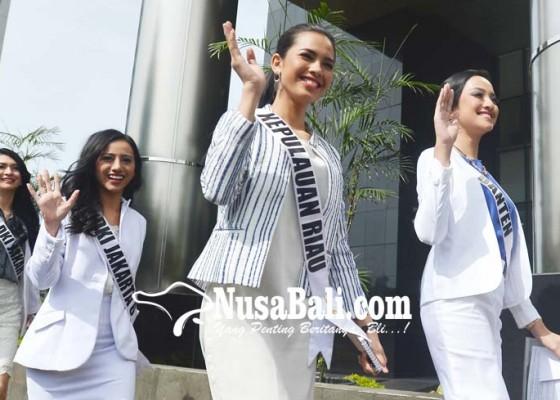 Nusabali.com - finalis-putri-indonesia-datangi-kpk