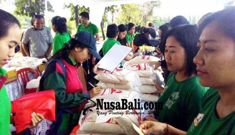 www.nusabali.com-pasar-murah-digelontor-2-ton-beras