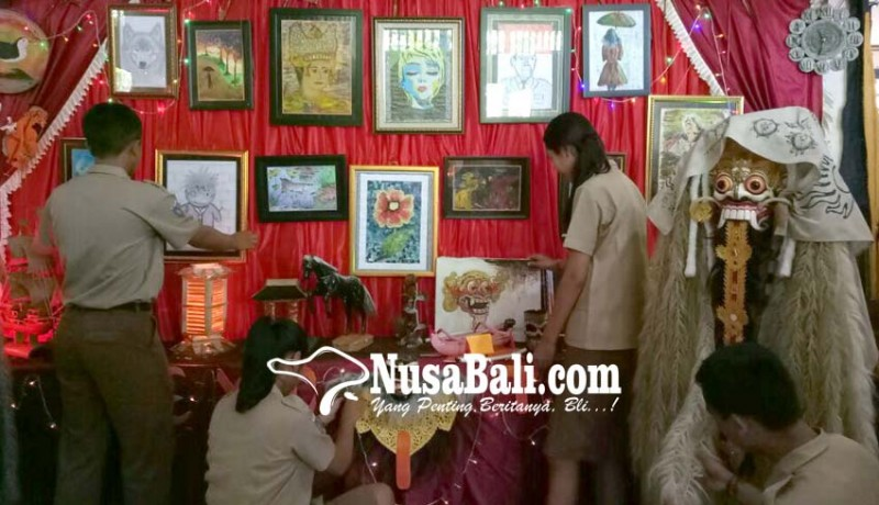 www.nusabali.com-sman-2-tabanan-gelar-pameran-seni