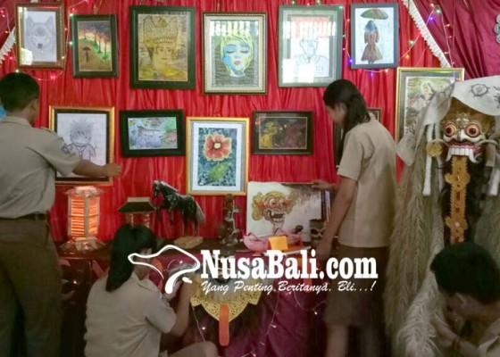 Nusabali.com - sman-2-tabanan-gelar-pameran-seni