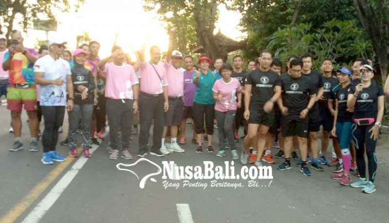 www.nusabali.com-hari-ginjal-sedunia-puluhan-peserta-lari-marathon-virtual-run