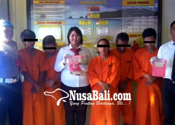 Nusabali.com - kompak-edarkan-narkoba-tiga-sekawan-digrebek-polisi