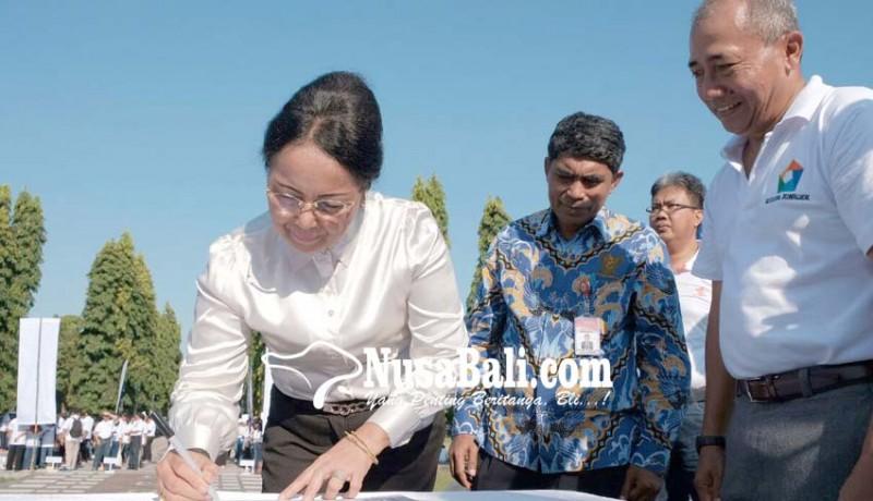 www.nusabali.com-djp-bali-canangkan-zona-integritas