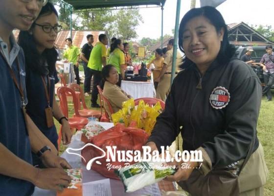 Nusabali.com - pasar-murah-jelang-nyepi-diserbu-warga