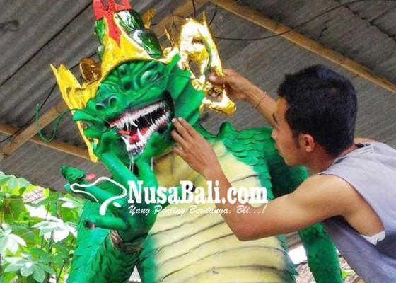 Nusabali.com - umat-hindu-siapkan-naga-dan-raksasa