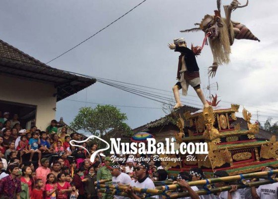 Nusabali.com - tiap-tahun-cuma-2-desa-di-kecamatan-tembuku-parade-ogoh-ogoh