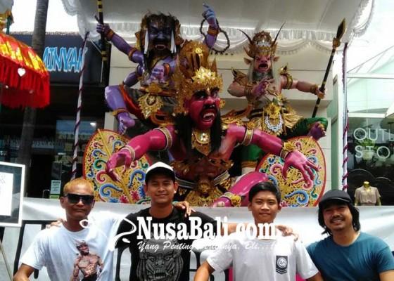 Nusabali.com - fenomena-gunung-agung-jadi-inspirasi-ogoh-ogoh