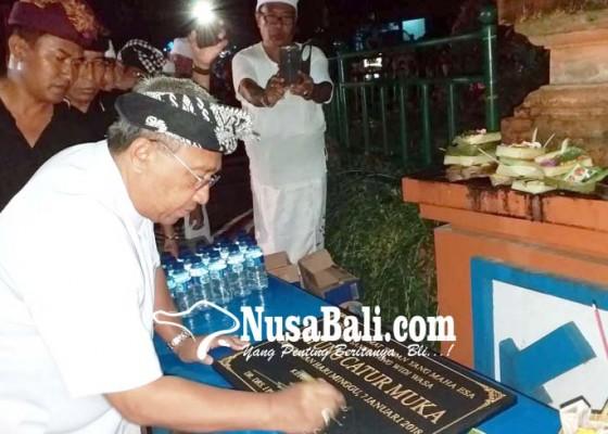 Nusabali.com - parwata-resmikan-patung-catur-muka-saat-buka-parade-ogoh-ogoh