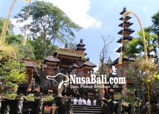 Nusabali.com - pagerwesi-pujawali-di-pura-gunung-lebah-ubud