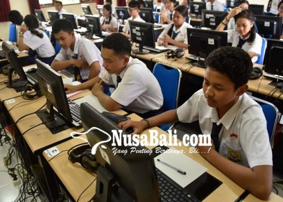 Nusabali.com - uji-coba-unbk-smp-terkendala-server-pusat