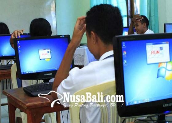 Nusabali.com - unbk-2018-smpn-kurang-komputer