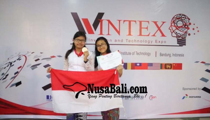 www.nusabali.com-dua-siswi-smpn-3-denpasar-raih-perak-di-ajang-internasional-wintex
