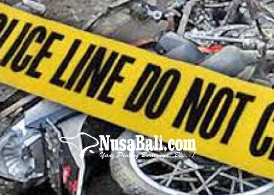 Nusabali.com - jatuh-dari-motor-pemulung-tewas
