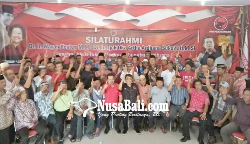 www.nusabali.com-tokoh-muslim-jembrana-kumpul-di-dpc-pdip