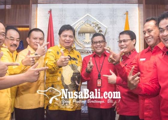 Nusabali.com - pdip-golkar-sepakat-strategi-pemenangan-jokowi