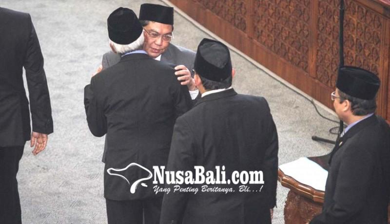 www.nusabali.com-utut-dilantik-pdip-resmi-miliki-kursi-pimpinan-dpr