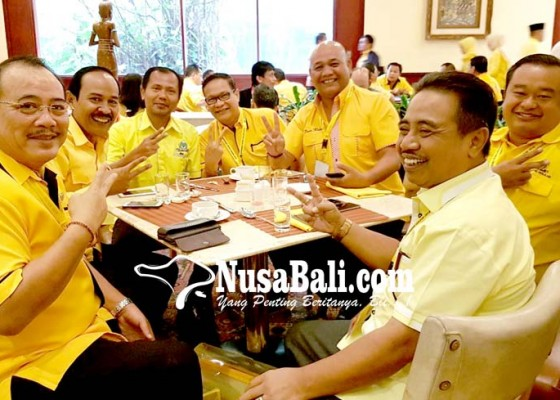 Nusabali.com - golkar-bali-bidik-tiga-kursi-dpr-ri