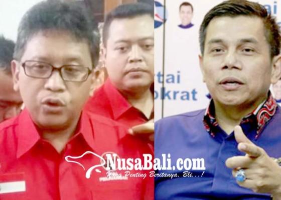 Nusabali.com - pdip-demokrat-panas-lagi