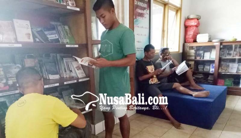 www.nusabali.com-perpustakaan-lapas-tabanan-krisis-buku