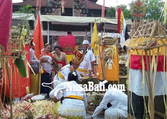 Nusabali.com - pacaruan-agung-di-taman-budaya-dipuput-3-sulinggih